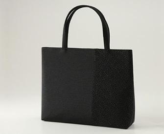 [1638] 印伝調横型フォーマルバッグ