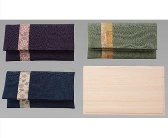 [802] 正絹名物裂タテハギ付念珠袋