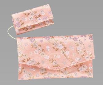 [786] 房カバー付念珠袋(金襴)